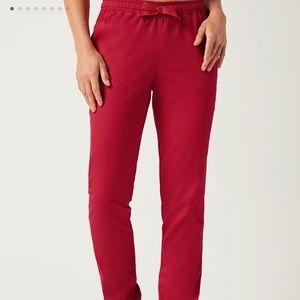 Jaanuu skinny pants tango red